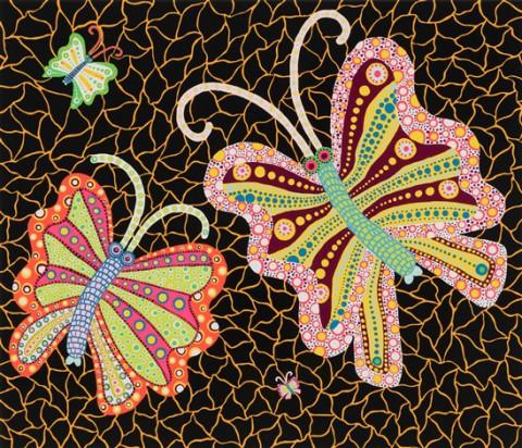 yayoi-kusama-butterflies-(kusama-134)