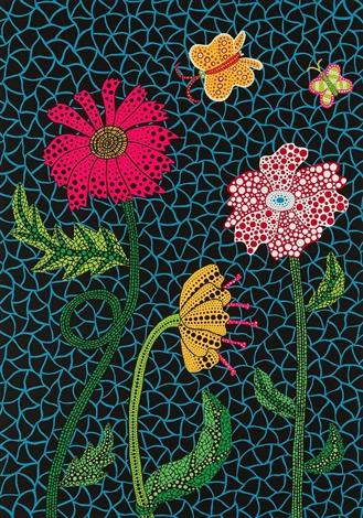 yayoi-kusama-flowers-(kusama-309)